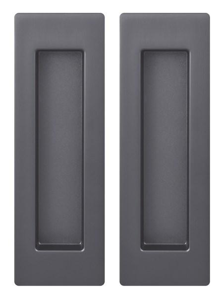 Ручка Armadillo для раздвижных дверей SH010 URB BPVD-77 Вороненый никель - фото 13390