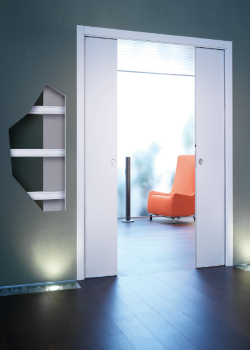 Пенал UNICO DOUBLE для двух дверей 2000 mm - фото 13471