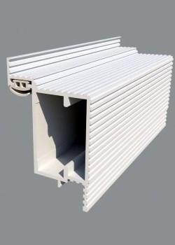 Алюминиевый короб для скрытых дверей Pro Design Reverse - фото 13476