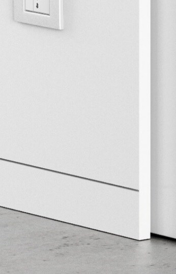 Плинтус скрытого монтажа Pro Design (анод. алюминий) - фото 13551