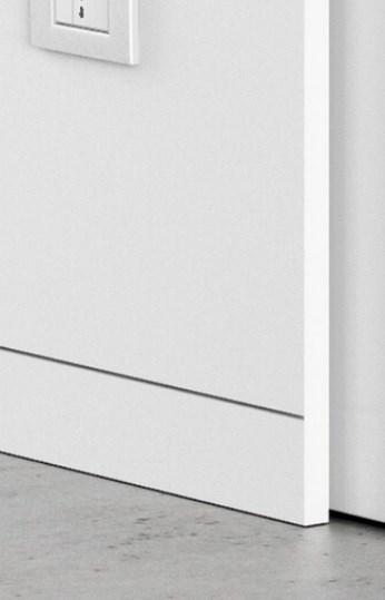 Плинтус скрытого монтажа Pro Design (не анод. алюминий) - фото 13572