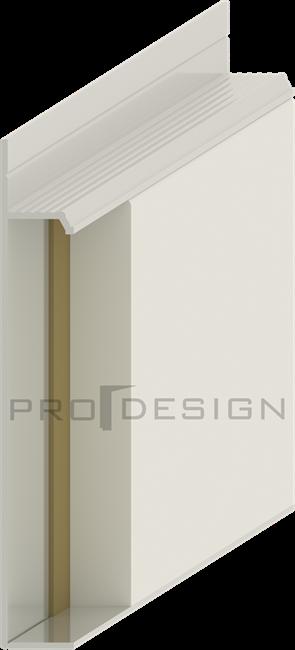 Плинтус скрытого монтажа Pro Design Universal (крашенный по RAL) - фото 13751