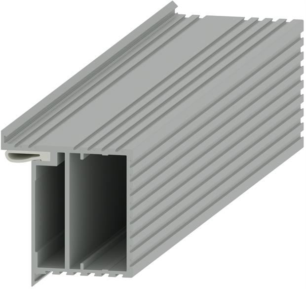 Алюминиевый короб для скрытых дверей Pro Design Universal - фото 13927