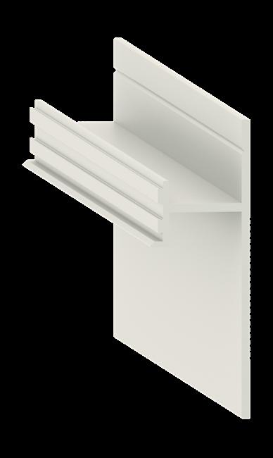 Теневой плинтус скрытого монтажа Pro Design Анодированный - фото 13968