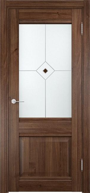 Дверь Милан 12 Орех - фото 6731