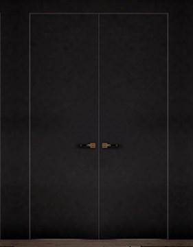 Комплект распашной скрытой двери DESING Zero Out (дверь-невидимка) наружного открывания