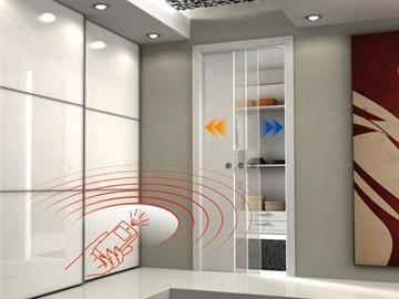 Пенал Eclisse Unico E-Motion для дверей высотой 2000 мм