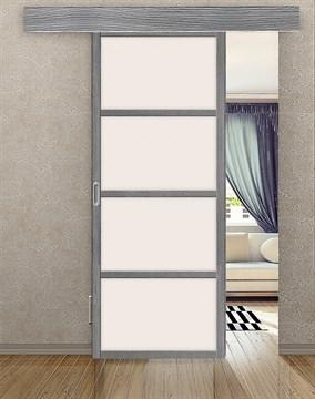 Комплект раздвижной двери Symetric Scorrio V1Grey