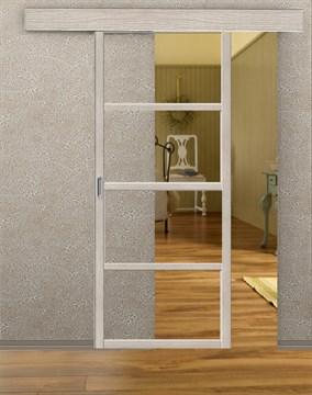 Комплект раздвижной двери Symetric Scorrio V2 Cappuccino