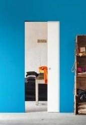 Комплект пенала Eclisse Syntesis Line с дверным полотном под покраску