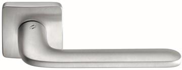 Дверная ручка на квадратном основании COLOMBO Roboquattro S ID51RSB-CM матовый хром