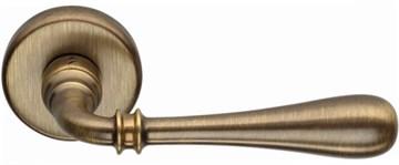 Дверная ручка на круглом основании COLOMBO Ida ID31RSB-OA матовая бронза