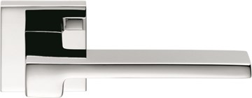 Дверная ручка на квадратном основании COLOMBO Zelda MM11RSB-CR полированный хром