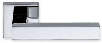 Дверная ручка на квадратном основании COLOMBO Elesse BD21RSB-CR полированный хром