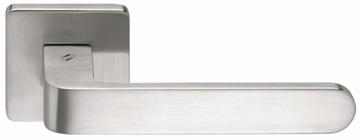 Дверная ручка на квадратном основании COLOMBO Fedra AC11RSB-CR матовый хром
