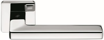 Дверная ручка на квадратном основании COLOMBO Esprit BT11RSB-CR полированный хром