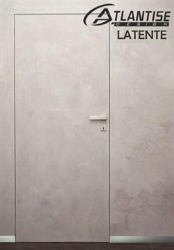 Комплект скрытой двери Atlantise Latente (дверь-невидимка) наружного открывания