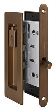 Замок для раздвижных дверей Armadillo H011 URB BB-17 Коричневая бронза