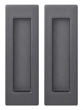 Ручка Armadillo для раздвижных дверей SH010 URB BPVD-77 Вороненый никель