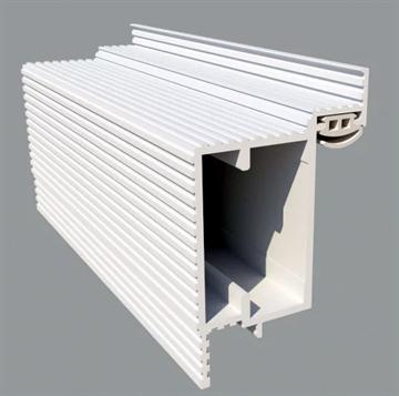 Алюминиевый короб для скрытых дверей Pro Design Reverse