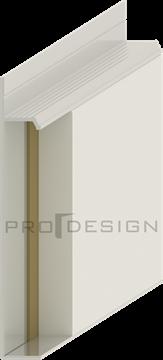 Плинтус скрытого монтажа Pro Design Universal (анод. алюминий)