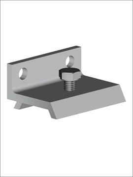 Комплект из 5 скоб для крепления направляющей к стене