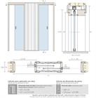 Пенал INVERSO для дверей высотой 2100 мм. - фото 11102