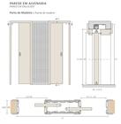 Пенал INVERSO для дверей высотой 2400 мм. - фото 11107