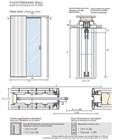 Потолочный дверной пенал Open Space UNICO Plus для дверей 2400-2499 мм - фото 12108