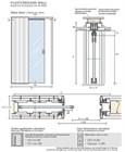 Потолочный дверной пенал Open Space UNICO Plus Soft (с доводчиком) для дверей 2500-2599 мм - фото 12126