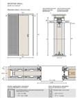 Потолочный дверной пенал Open Space UNICO Plus Soft (с доводчиком) для дверей 2800-2899 мм - фото 12134