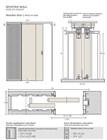 Потолочный дверной пенал Open Space PARALELO Plus для дверей 2800-2899 мм - фото 12156