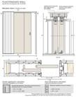 Потолочный дверной пенал Open Space PARALELO Plus для дверей 2800-2899 мм - фото 12157