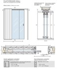Потолочный дверной пенал Open Space PARALELO Glass Plus для телескопических цельностеклянных полотен 2600-2699 мм - фото 12184