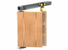 Комплект складной двери Symetric Amareno Plus V4 Cappuccino - фото 12818