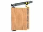 Комплект складной двери Symetric Amareno Plus V5 Cappuccino - фото 12858