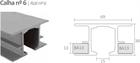 Комплект фурнитуры Openspace INSIDE для подвесных потолков из гипсокартона - фото 13107