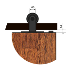 Комплект фурнитуры LUNA - фото 13330