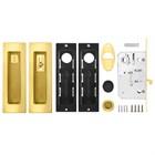 Замок для раздвижных дверей Armadillo SH011 URB GOLD-24 Золото 24К - фото 13371