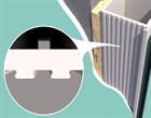 Алюминиевый короб для скрытых дверей Pro Design - фото 13430