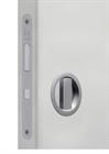 Замок для раздвижной двери G500T H21 Tondo комплект WC (Матовый хром) - фото 13517