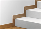 Плинтус скрытого монтажа Pro Design (анод. алюминий) - фото 13546