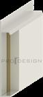 Плинтус скрытого монтажа Pro Design Universal (анод. алюминий) - фото 13747