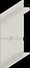 Плинтус скрытого монтажа Pro Design Universal (крашенный по RAL) - фото 13750