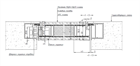 Комплект скрытой двери Pro Design Panel Reverse внутреннего открывания - фото 13853
