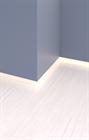 Теневой плинтус скрытого монтажа Pro Design Белый - фото 13906