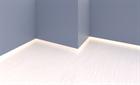 Теневой плинтус скрытого монтажа Pro Design Белый - фото 13907