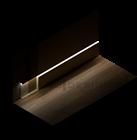 Плинтус скрытого монтажа Pro Design Universal (Черный Анодированный) - фото 13976