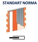 Кассета SANDART NORMA (под гипсокартон) для дверей 2000 мм - фото 5744