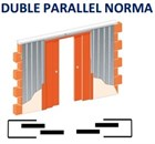 Кассета Casseton DOUBLE PARALLEL  2000/ 2100 - фото 6195